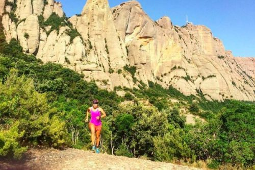 going-past-the-limit-hillary-running-uphill